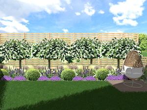 Niewielki ogródek nowoczesny w Stargardzie
