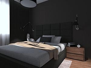 Wielkomiejski modernizm w sypialni