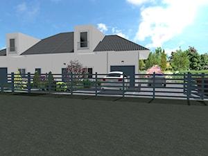 Ogród przydomowy dla 4-osobowej rodziny