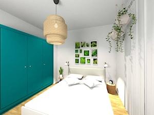 Sypialnia w sielskim stylu