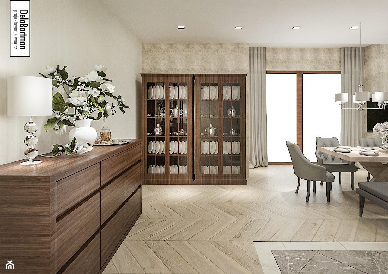 Salon w klasycznym stylu - zdjęcie od DelaBartman - Homebook