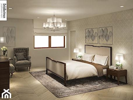 Aranżacje wnętrz - Sypialnia: sypialnia w klasycznym stylu - DelaBartman. Przeglądaj, dodawaj i zapisuj najlepsze zdjęcia, pomysły i inspiracje designerskie. W bazie mamy już prawie milion fotografii!