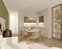 Mieszkanie glamour z miejscem na kolekcję magnesów - zdjęcie od Feel-Project - Homebook