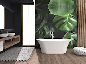 Salon kąpielowy w tropikalnym wydaniu
