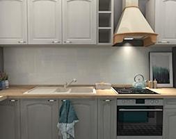 Kuchnia z niebieskim akcentem - zdjęcie od Feel-Project