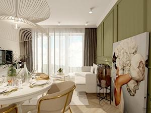 Mieszkanie glamour w Warszawie