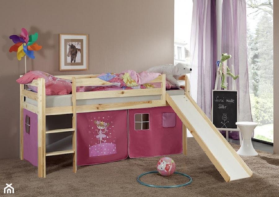 Pokój dziecka - Mały brązowy pokój dziecka dla dziewczynki dla malucha, styl tradycyjny - zdjęcie od Meble.pl