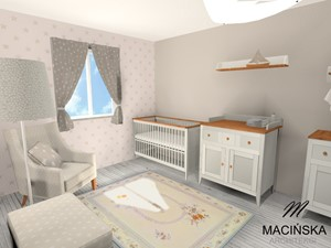 Pokój maluszka - zdjęcie od MACIŃSKA ARCHITEKCI