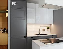 Zdjęcia z metamorfozy mieszkania 36m2 w Warszawie - Kuchnia, styl nowoczesny - zdjęcie od Voight Interiors - Homebook