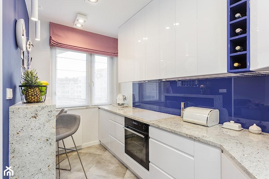 Apartament Na Ursynowie 110m2 Srednia Otwarta Biala Niebieska