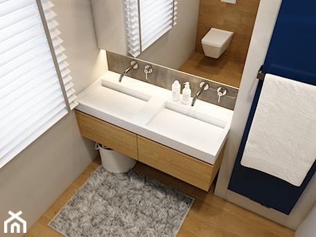 Aranżacje wnętrz - Łazienka: WARSZAWA 170m2 - Mała łazienka, styl nowoczesny - BEFORECONCEPT. Przeglądaj, dodawaj i zapisuj najlepsze zdjęcia, pomysły i inspiracje designerskie. W bazie mamy już prawie milion fotografii!