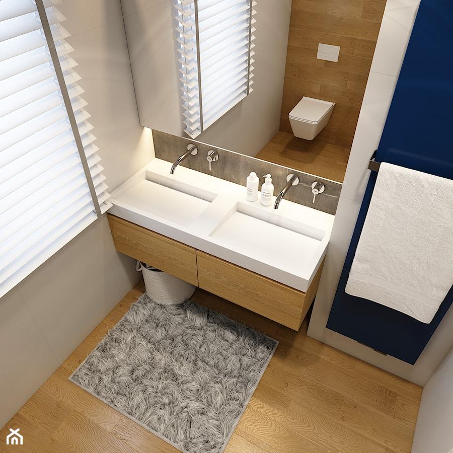 WARSZAWA 170m2 - Mała łazienka, styl nowoczesny - zdjęcie od BEFORECONCEPT
