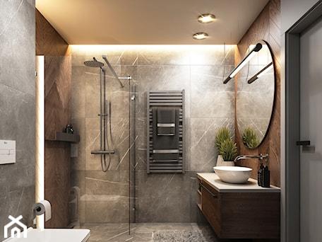 Aranżacje wnętrz - Łazienka: Projekt łazienki - Borzęcin Duży - BEFORECONCEPT. Przeglądaj, dodawaj i zapisuj najlepsze zdjęcia, pomysły i inspiracje designerskie. W bazie mamy już prawie milion fotografii!