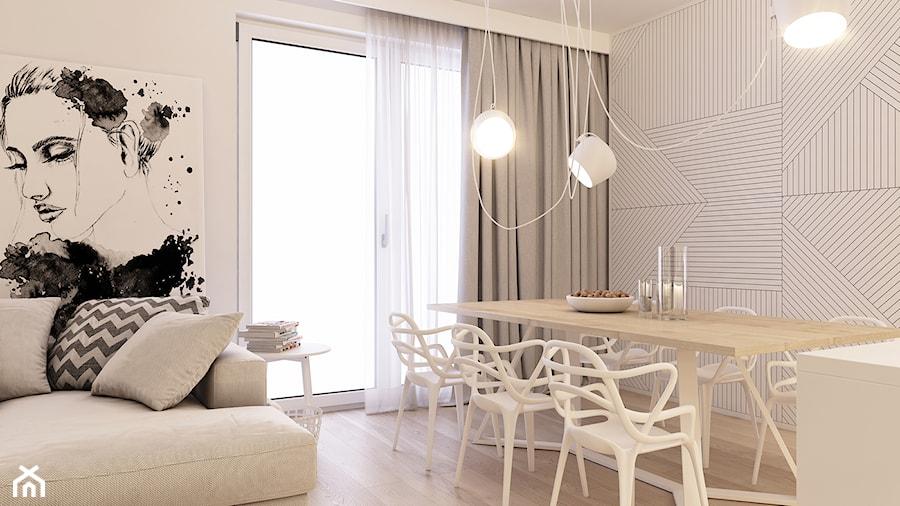 Salon z jadalnią - zdjęcie od BEFORECONCEPT
