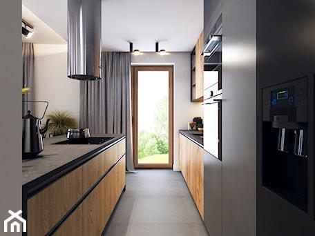 Aranżacje wnętrz - Kuchnia: Klimatyczne mieszkanie w Krakowie 3 - Duża otwarta biała kuchnia dwurzędowa z oknem, styl nowoczesny - BEFORECONCEPT. Przeglądaj, dodawaj i zapisuj najlepsze zdjęcia, pomysły i inspiracje designerskie. W bazie mamy już prawie milion fotografii!