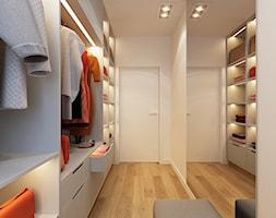 WARSZAWA 170m2 - Duża zamknięta garderoba, styl nowoczesny - zdjęcie od BEFORECONCEPT