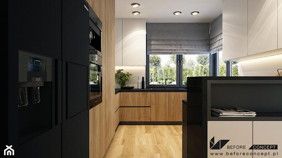 Otwarta kuchnia - zdjęcie od BEFORECONCEPT
