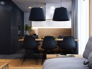 Projekt wnętrz - mieszkanie w Krakowie - zdjęcie od BEFORECONCEPT