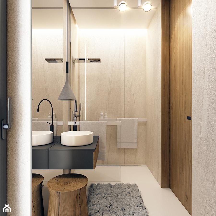 łazienka Kamień Drewno Zdjęcie Od Beforeconcept Homebook