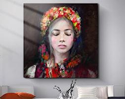 Obraz+Lady+Folk+-+zdj%C4%99cie+od+KRZANOO+ART