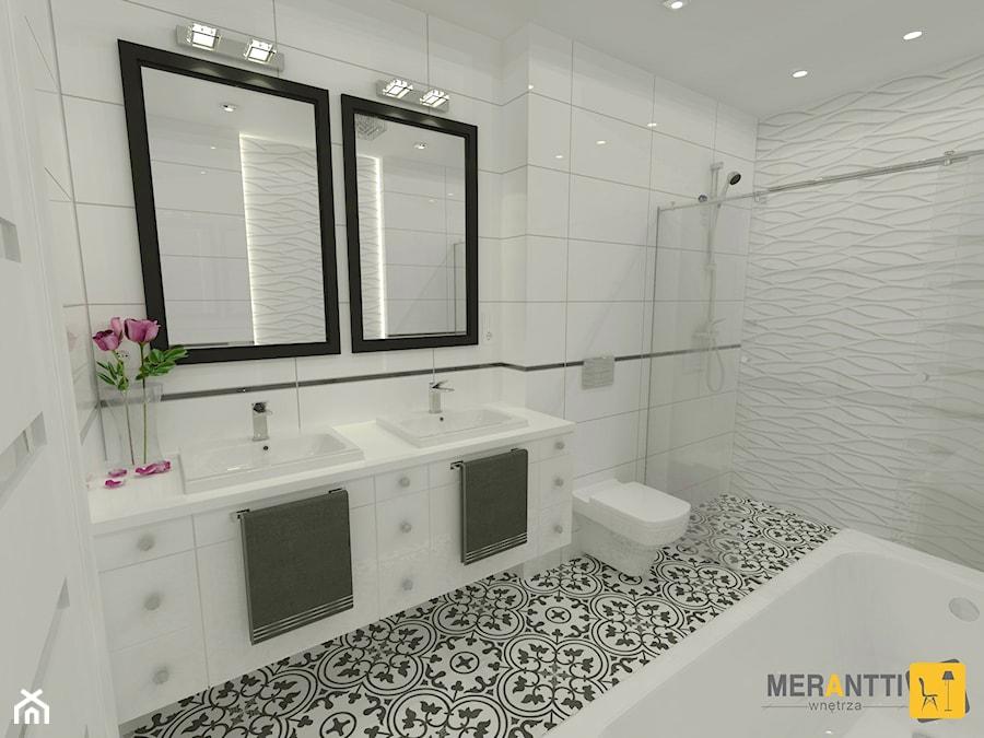 Aranżacja łazienki 11m2 W Domu Jednorodzinnym W Lidzbarku