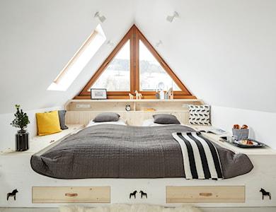 Sypialnia styl Skandynawski - zdjęcie od www.tatrytop.pl