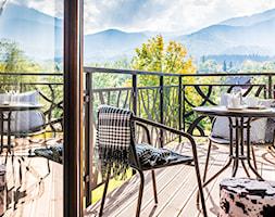Apartament Szymoszkowa Prestige - Średni taras z tyłu domu - zdjęcie od www.tatrytop.pl