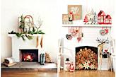Jak ciekawie przystroić kominek na Święta? - zdjęcie od cleo-inspire - homebook
