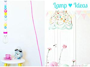 Pomysłowe lampy, które możesz zrobić sam. DIY