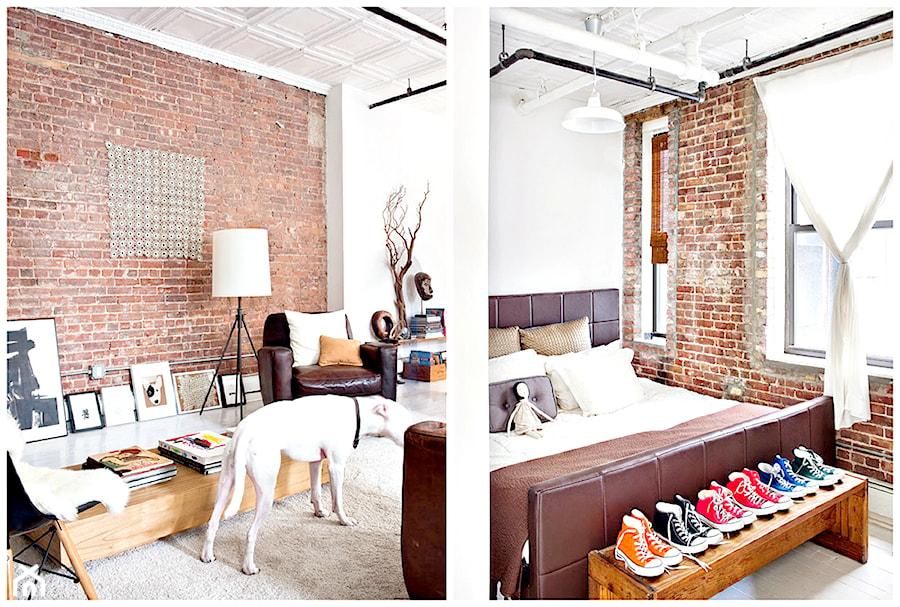 White Loft Apartment - Mieszkanie typu loft pełne artyzmu. - zdjęcie od cleo-inspire