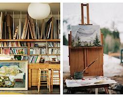 Artystyczny pokój - miesce przepełnione duszą artysty. - zdjęcie od cleo-inspire