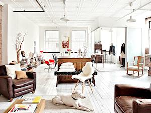 White Loft Apartment - Mieszkanie typu loft pełne artyzmu.