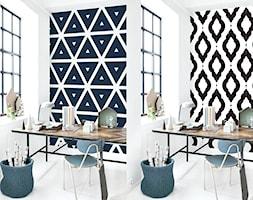 O tym, jak wybór tapety i wzoru może wpłynąć na wygląd pomieszczenia. - zdjęcie od cleo-inspire