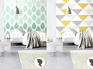 Jak wybór tapety i wzoru może wpłynąć na wygląd pomieszczenia.