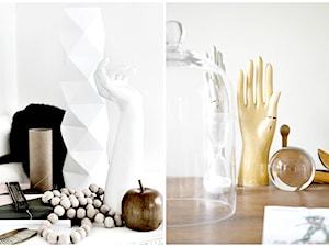 Drewniana (i nie tylko) ręka jako przedmiot specyficznej dekoracji.