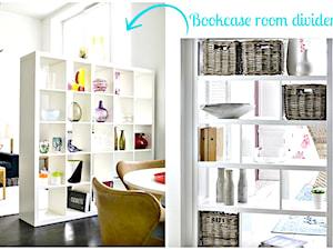 W jaki sposób wykorzystać zwykłe regały z Ikei do odseparowania pomieszczenia?