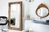 lustro do wnętrza w stylu francuskim