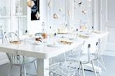 stół sylwestrowy w stylu skandynawskim