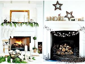 Jak ciekawie przystroić kominek na Święta?