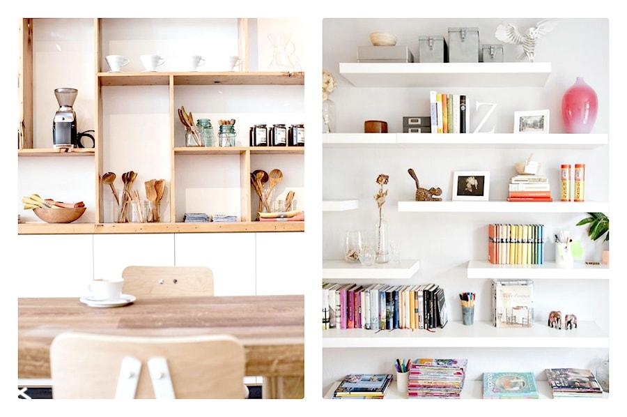 Dużo Półek Dużo Pomysłów Jak Udekorować Otwarte Półki