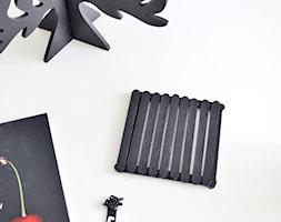 Co można zrobić z patyczków po lodach? Cleo-inspire Blog - Biuro, styl skandynawski - zdjęcie od cleo-inspire - Homebook