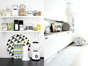 Jak wykorzystać dekoracyjne skandynawskie tace w kuchni?