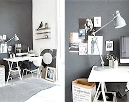 Jak wygospodarować miejsce na biurko w swojej sypialni? - zdjęcie od cleo-inspire