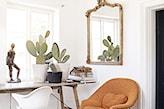 Lustro z elegancką unikatową vintage ramą. - zdjęcie od cleo-inspire - Homebook