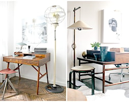Jak stare biurko wpływa na atmosferę w domowym biurze. - zdjęcie od cleo-inspire