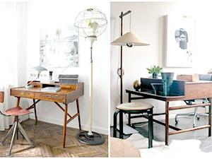 Jak stare biurko wpływa na atmosferę w domowym biurze.