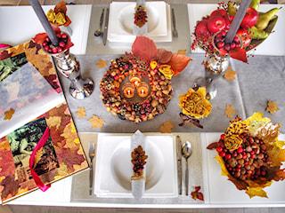 Dekoracja stołu. Podpowiadamy, jak stworzyć efektowną kolację