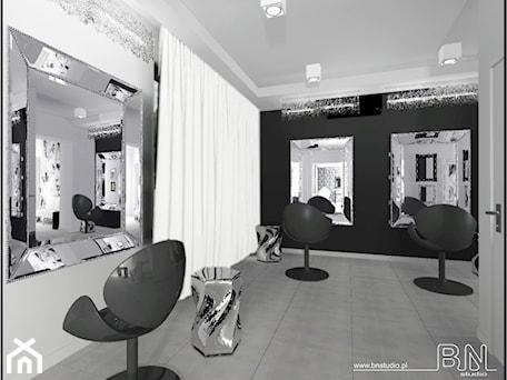 Aranżacje wnętrz - Wnętrza publiczne: Salon Fryzjersko-Kosmetyczny Czechowice-Dziedzice woj. Śląskie - bnstudio. Przeglądaj, dodawaj i zapisuj najlepsze zdjęcia, pomysły i inspiracje designerskie. W bazie mamy już prawie milion fotografii!