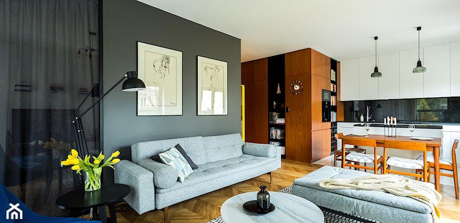 Akcentowa ściana w salonie – szybki i łatwy sposób na metamorfozę Twojego wnętrza