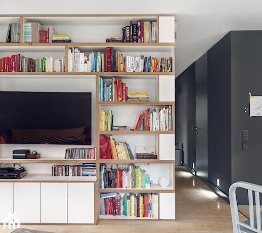 Nowoczesny apartament w Gdańsku  zdjęcie od 9design -> Salon Kuchni Gdansk